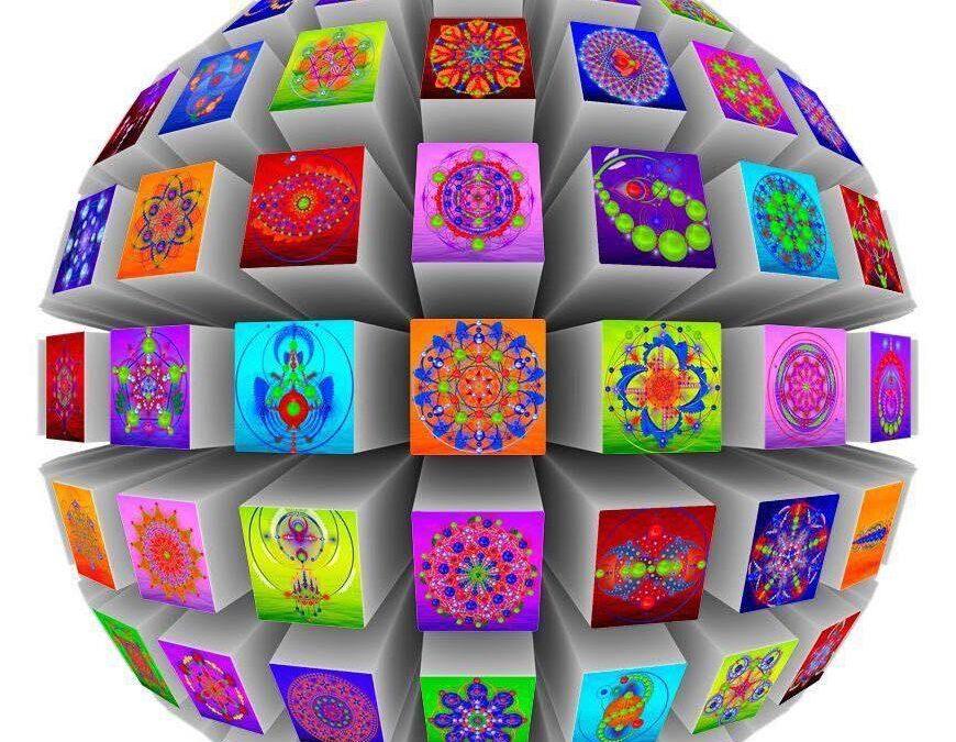 Sacred geometry/Свещена геометрия в мандали