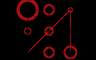 Лична числова мандала – буквите в името комбинирани с рождената карта